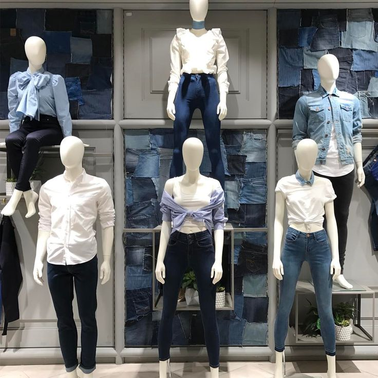 "DUNNES STORES, Stephen's Shopping Centre, Dublin, Ireland, ""Denim,denim and more denim!"", photo by VM On The Green, pinned by Ton van der Veer"