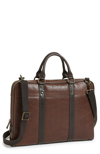 Fossil 'Estate' Leather Briefcase   Nord strom