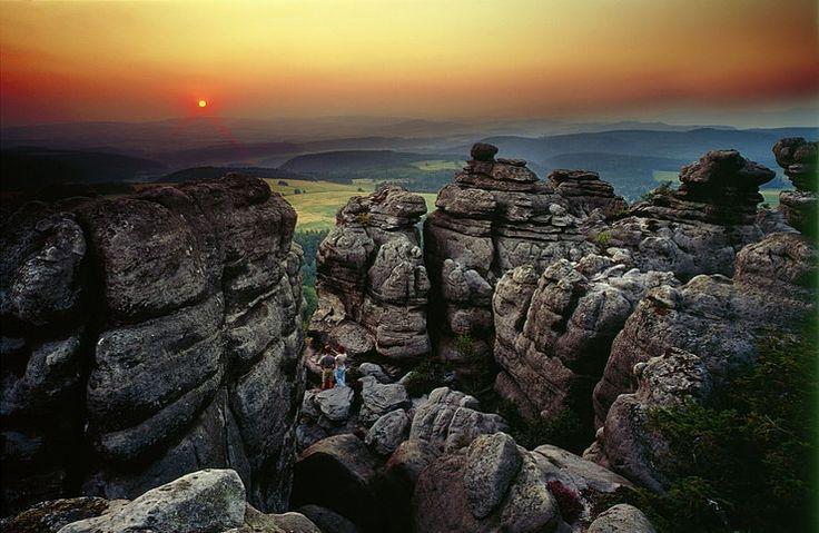 Góry Stołowe - Szczeliniec Mały