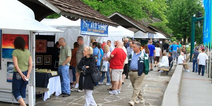 The 9th annual gatlinburg fine arts festival happens at for Arrowmont school of arts and crafts