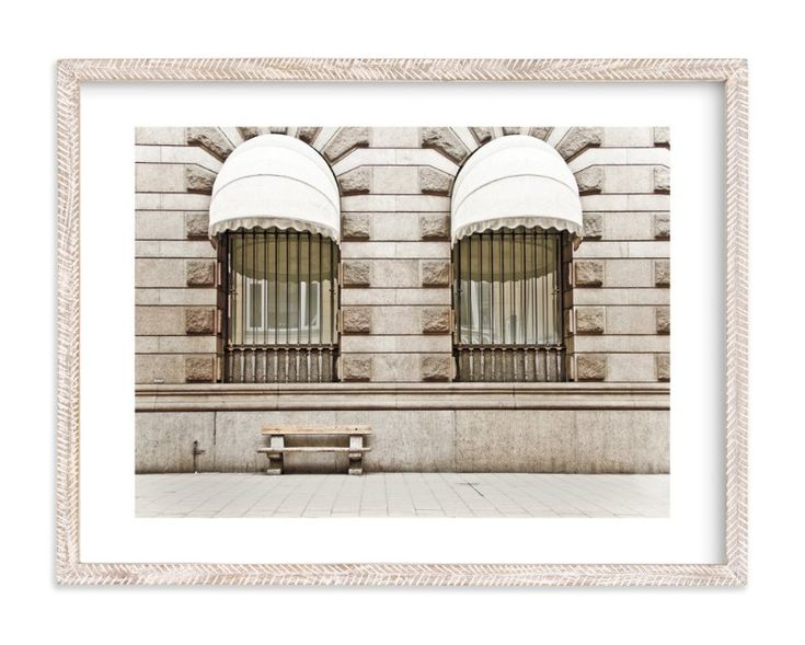 """""""Beige Scene"""" - Art Print by Alexandra Feo in beautiful frame options and a variety of sizes."""