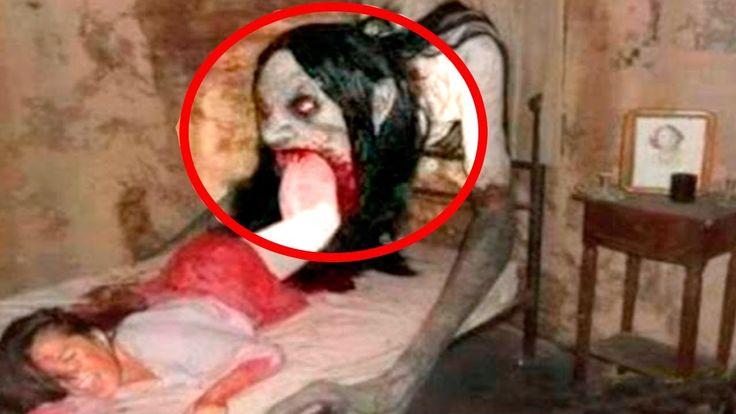#Sobrenatural 10 VIDEOS DE TERROR REALES – Fantasmas, brujas, duendes, monstruos y sirenas: Una compilación de los videos de miedo más…
