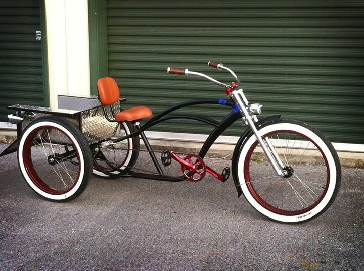 17 Best Images About Custom BicyclesCruisers Amp Trikes On Pinterest  Bi