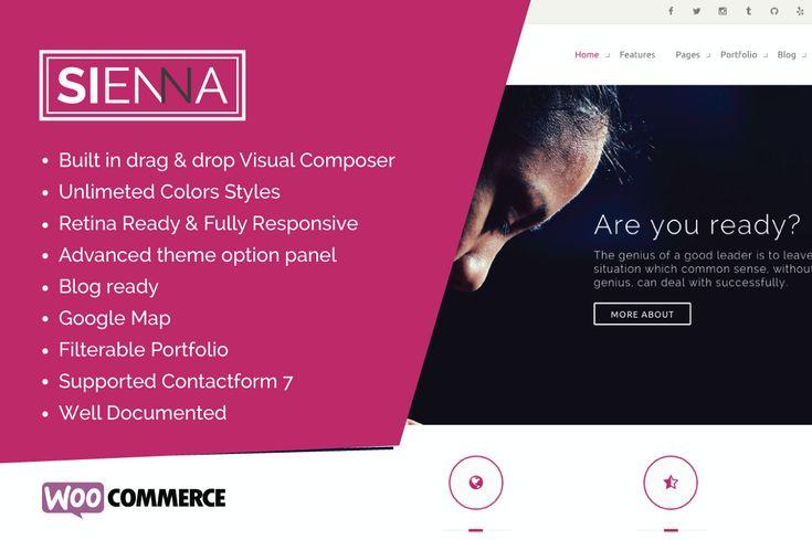 Sienna – Multipurpose WordPress Theme