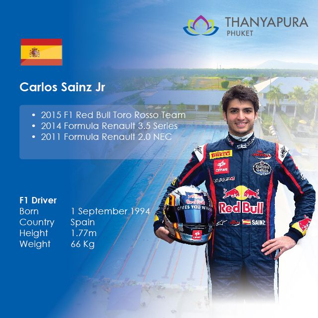 Formula 1's Carlos Sainz Jr spoke to Thanyapura about how he gets into 'The Zone' before a big race. #phuket #F1 #Formula1 #CarlosSainz #Thanyapura #InTheZone #exercisetips #exercise