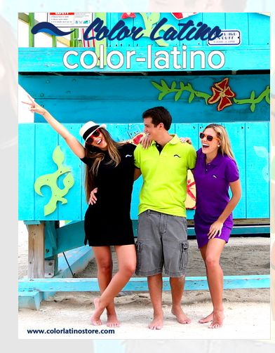 Color Latino embarked on an adventurous journey to promote the beauty of Latin culture through fashion. They design beautiful garments that carry with them cultural significance. This is their cover.