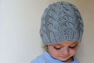 If I ever learn how to knit (and if we live somewhere cooler), this is such a cute hat! Free pattern.