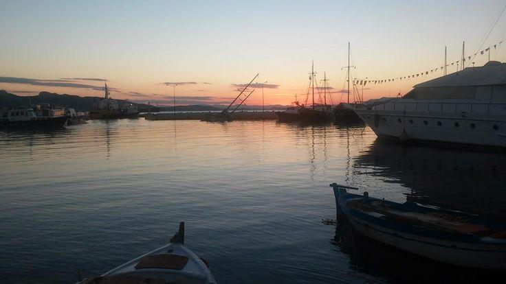 A beautiful photo taken at the port of Elefsina. Photo by D. Patsatzi