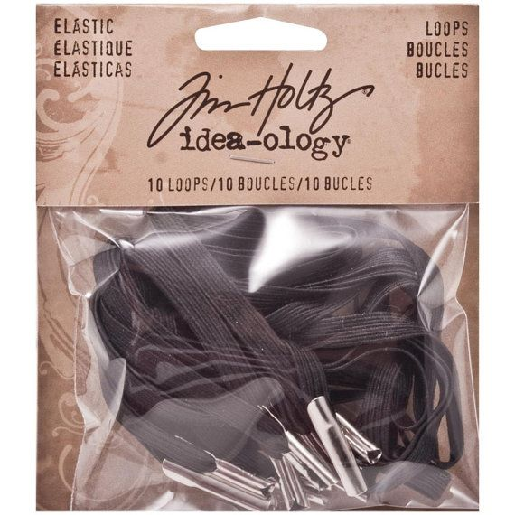 Tim Holtz  ideaology Elastic Loop Bands  by SeptemberPlayground, $3.81