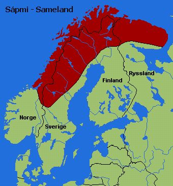 Sami people homeland, Sameland