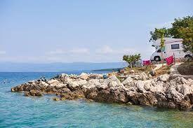 Kroatien: Camping Glavotok direkt am Meer