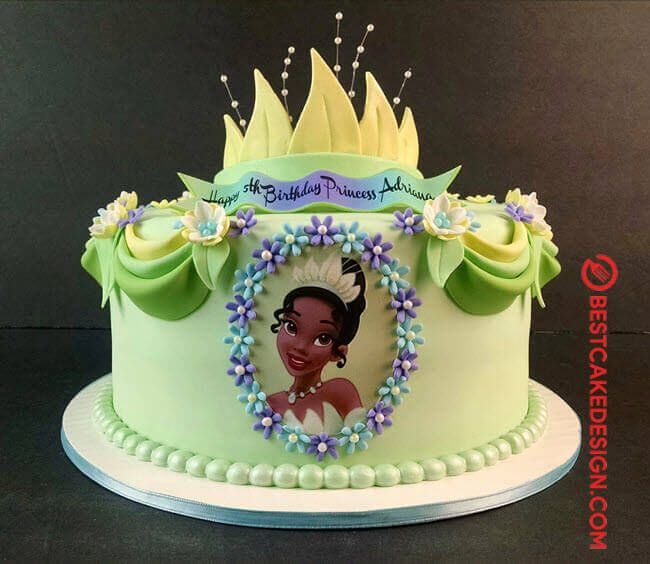 50 The Princess And The Frog Cake Design Cake Idea March 2020