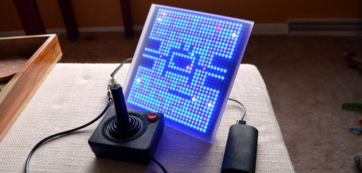 Make a simple 1-pixel Pac Man