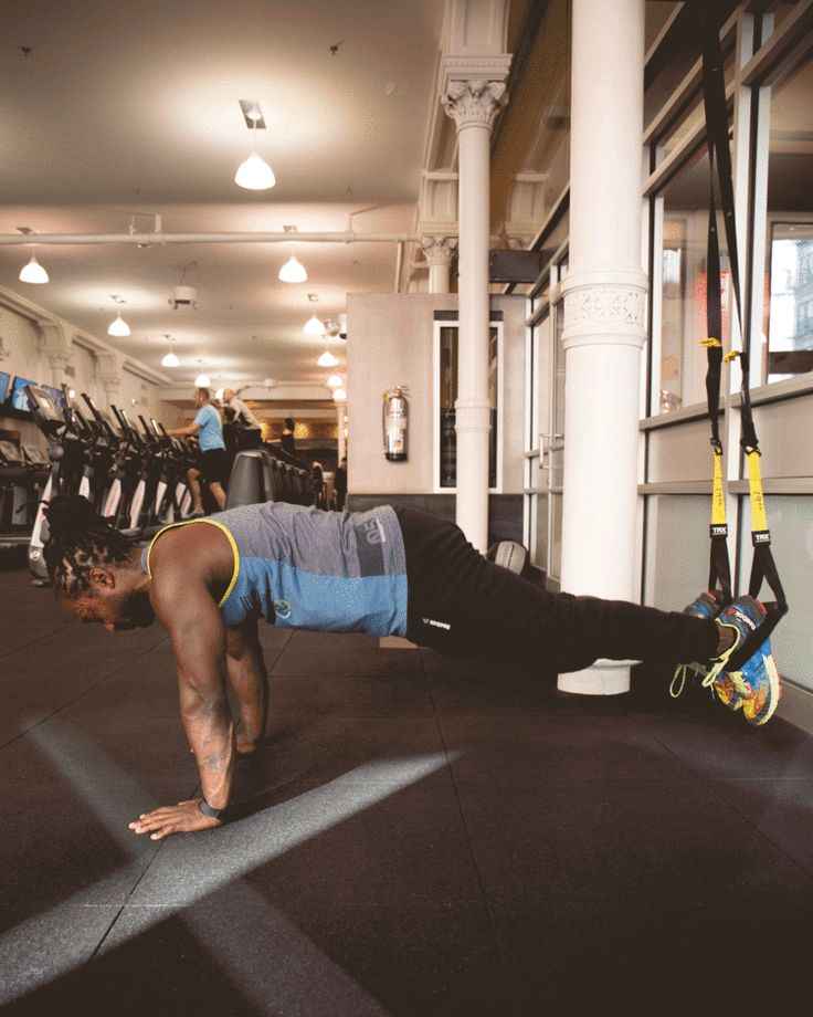 14. TRX Pike #abs #workout #exercises http://greatist.com/move/abs-workout-most-effective-core-moves-to-do-at-the-gym
