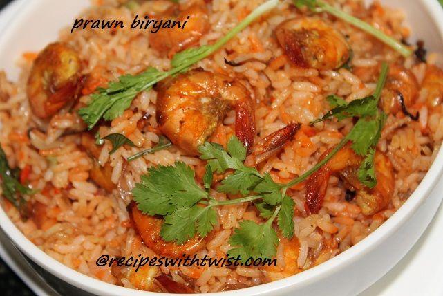 Prawn Biryani Sailu S Food