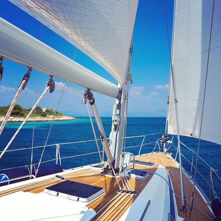 Endless shades of blue..  #Greece #AegeanSea #VarietyCruises