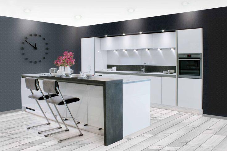 Grifflose Küchen  Küche griffloseVitra 2026  Küche planen mit ...