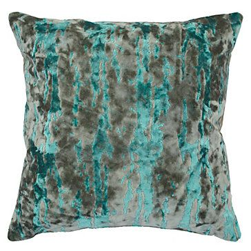 Whistler Pillow 24 Quot Aquamarine Pillows Bedding And