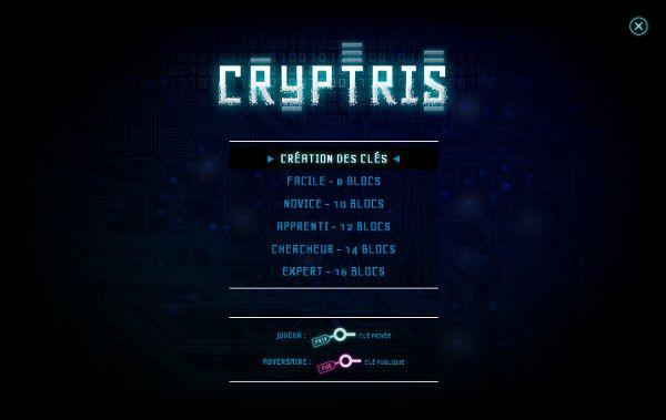 Cryptris, un jeu Tetris pour comprendre simplement la cryptographie