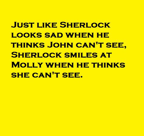 My Sherlock headcanon. Sherlolly FTW! :)