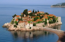 St Stefan, Montenegro - currently undergoing restoration.  Some villas are available as of last summer 2012