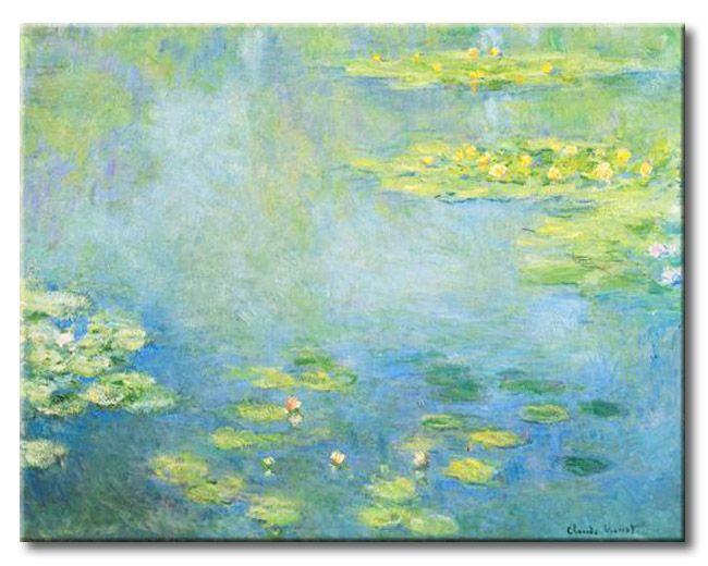 mumn tmonet waterlilies cuadros famosos lirios de agua