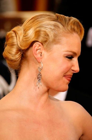 .: Hair Down, Weddinghair, Hairstyles, Bridesmaid Hair, Katherine Heigl, Katherineheigl, Fingers Waves, Wedding Hair Style, Formal Hair