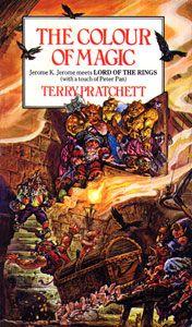 The discworld series by Terry Pratchett.