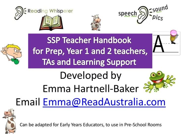 ssp-teacher-handbook-green-level by Read Australia via Slideshare