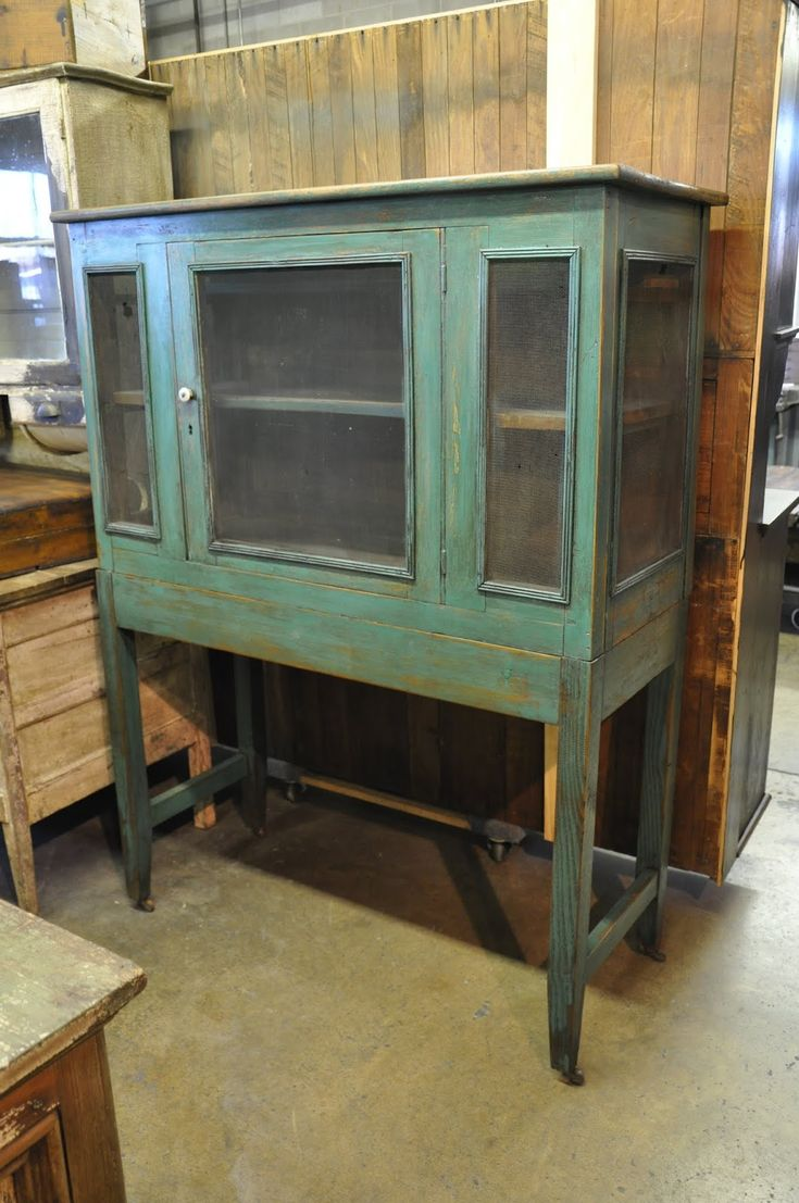 Wood primitive pie safe | This old pie safe is in such prime condition.