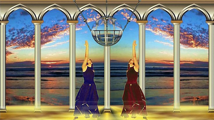 The temple of evening harmony  - Храм вечерней гармонии