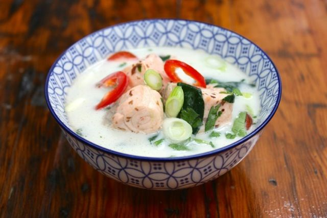 In hurry to cook dinner? Try my 6 minute fish soup.