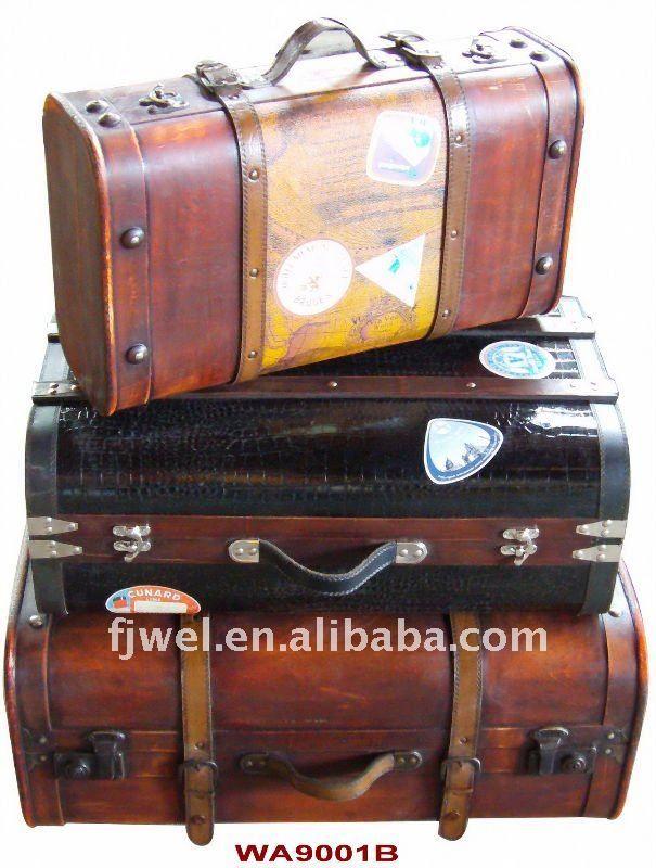 Antika ahşap Bavul, eski bavul-Bagaj-ürün Kimliği:281272919-turkish.alibaba.com