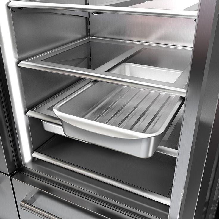 Réfrigérateur-congélateur Side-by-Side avec porte vitrée3