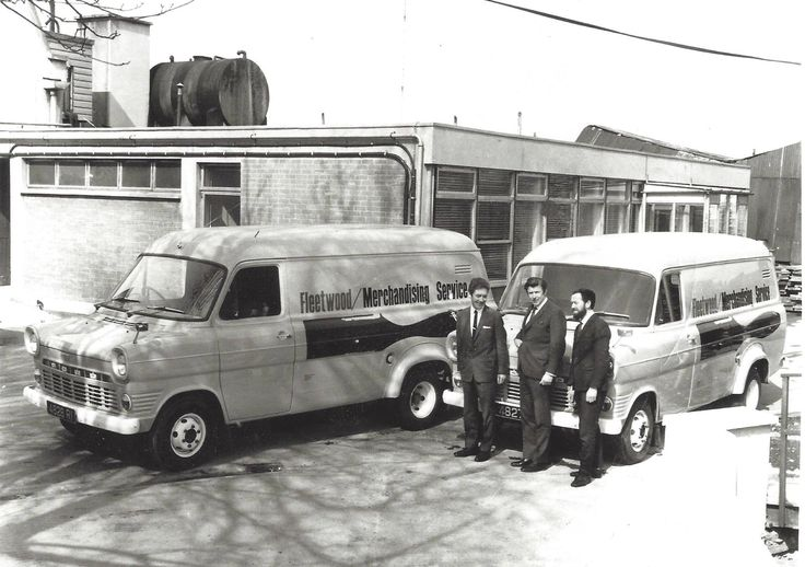 A vintage photo of a 1970 Fleetwood delivery - back before we sold paint and were just Ireland's leading brush and accessory manufacture.