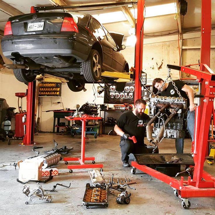 German Autohaus Chattanooga Tennessee European 2003 Volkswagen VW MK4 Jetta VR6 engine swap