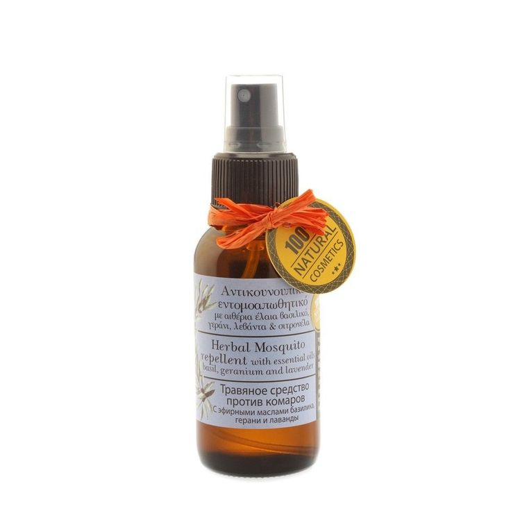 Natural Mosquito Repellent Oil with essential oils 50ml. #Evergetikon