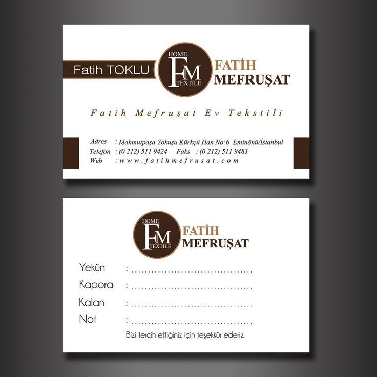 Fatih Mefruşat - Kartvizit Tasarımı