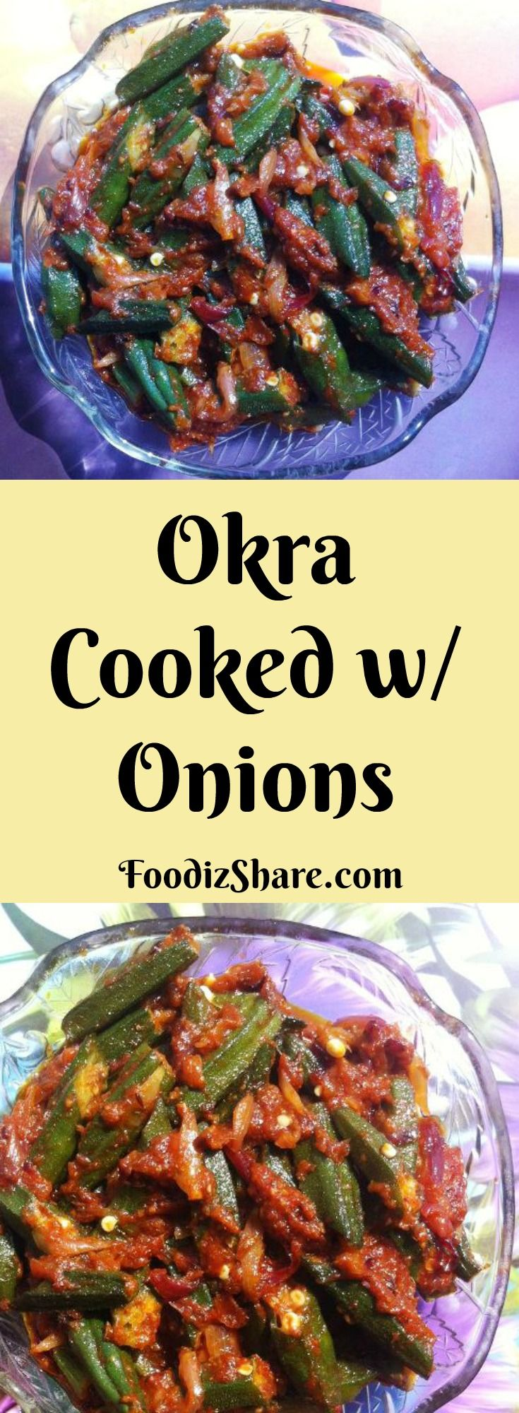 A #delicious okra #sidedish with #onion and #spice mix. #vegetarian  #vegetables #glutenfree #vegan #side #healthyrecipes #recipes