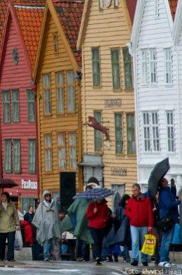 Städtereisen nach Bergen sind ein beliebtes Ziel auf Süd-Norwegen-Rundreisen.