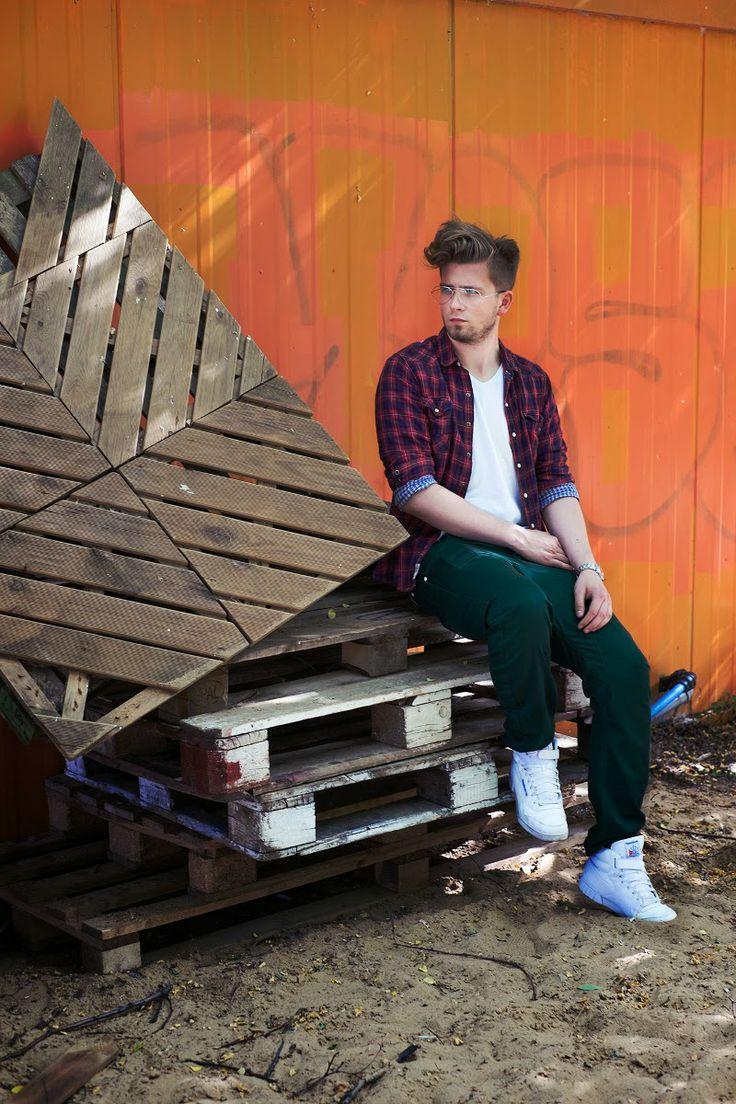 Moda męska i lifestyle - blog by Podliński Łukasz: Wrzuć na luz - Kontener Art