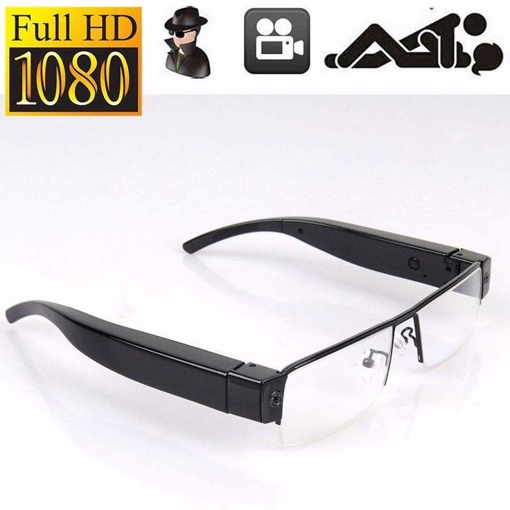 NEW Full HD 1080P Spy Camera Glasses Hidden DVR Video Recorder Eyewear Camcorder