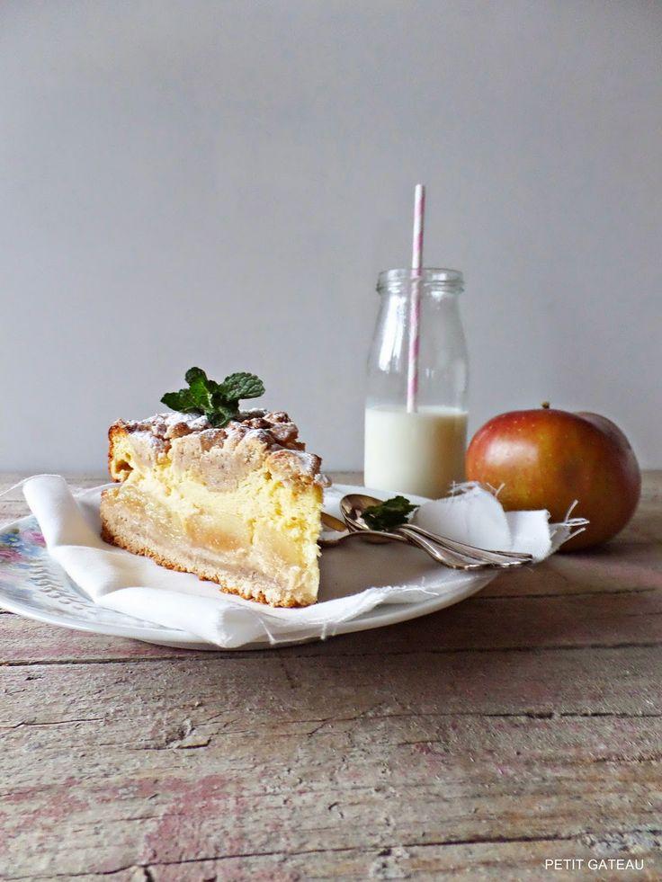 Apfel-Käse-Kuchen mit Streuseln - meine große Apfelkuchen-Liebe