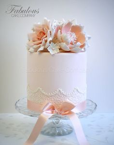 10 year anniversary vintage one layer cake - Google Search