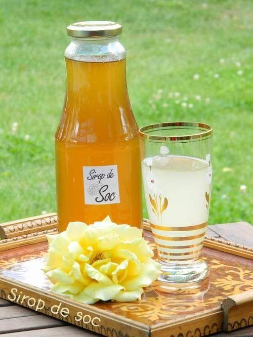 Reteta culinara Sirop din flori de soc din categoria Conserve. Cum sa faci Sirop din flori de soc