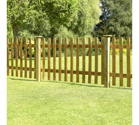 Buy Forest 0.9m Pale Fence Panel - Pack of 10 at Argos.co.uk - Your Online Shop for Garden fencing and trellis, Garden decoration and landscaping, Home and garden.