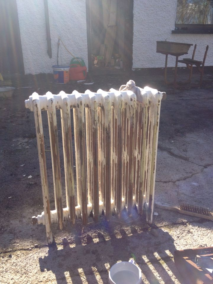 Radiator from salvage yard