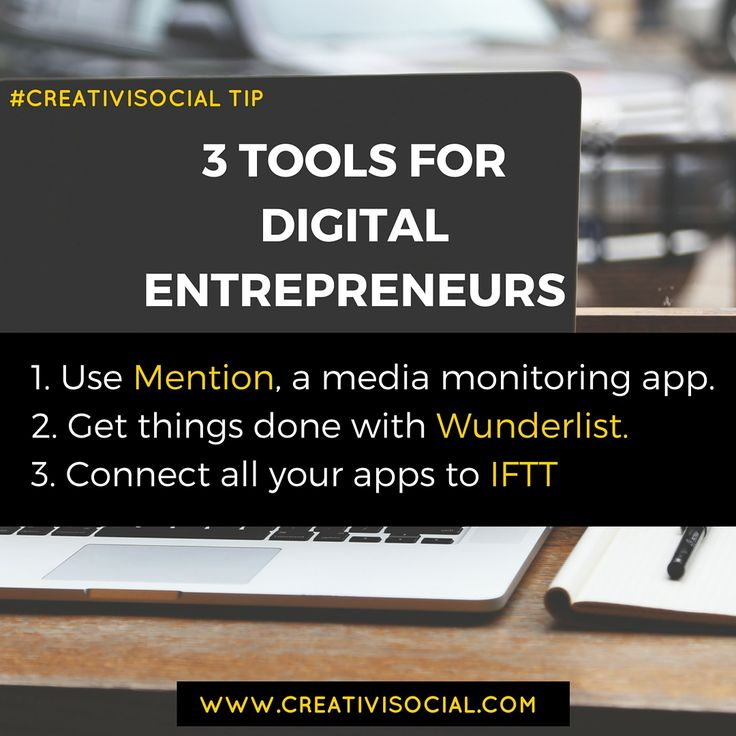 3 Tools for digital entrepreneurs