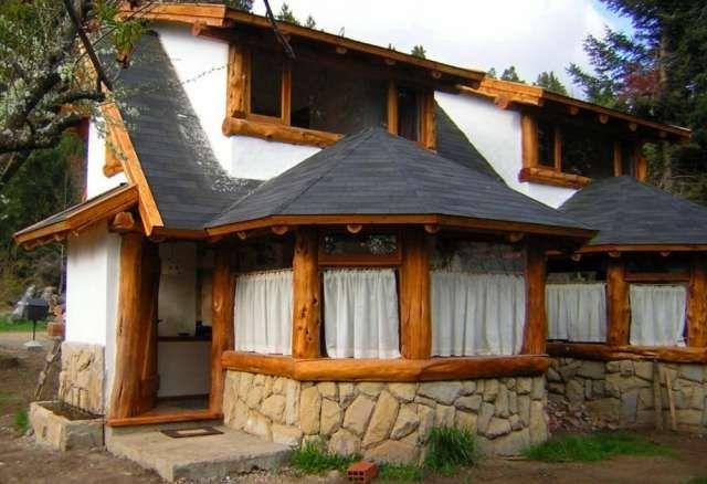 Rusticas de madera casas pinterest santa cruz - Cabanas de madera economicas ...