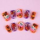 """Happy Halloween"" Japanese Nail Art"